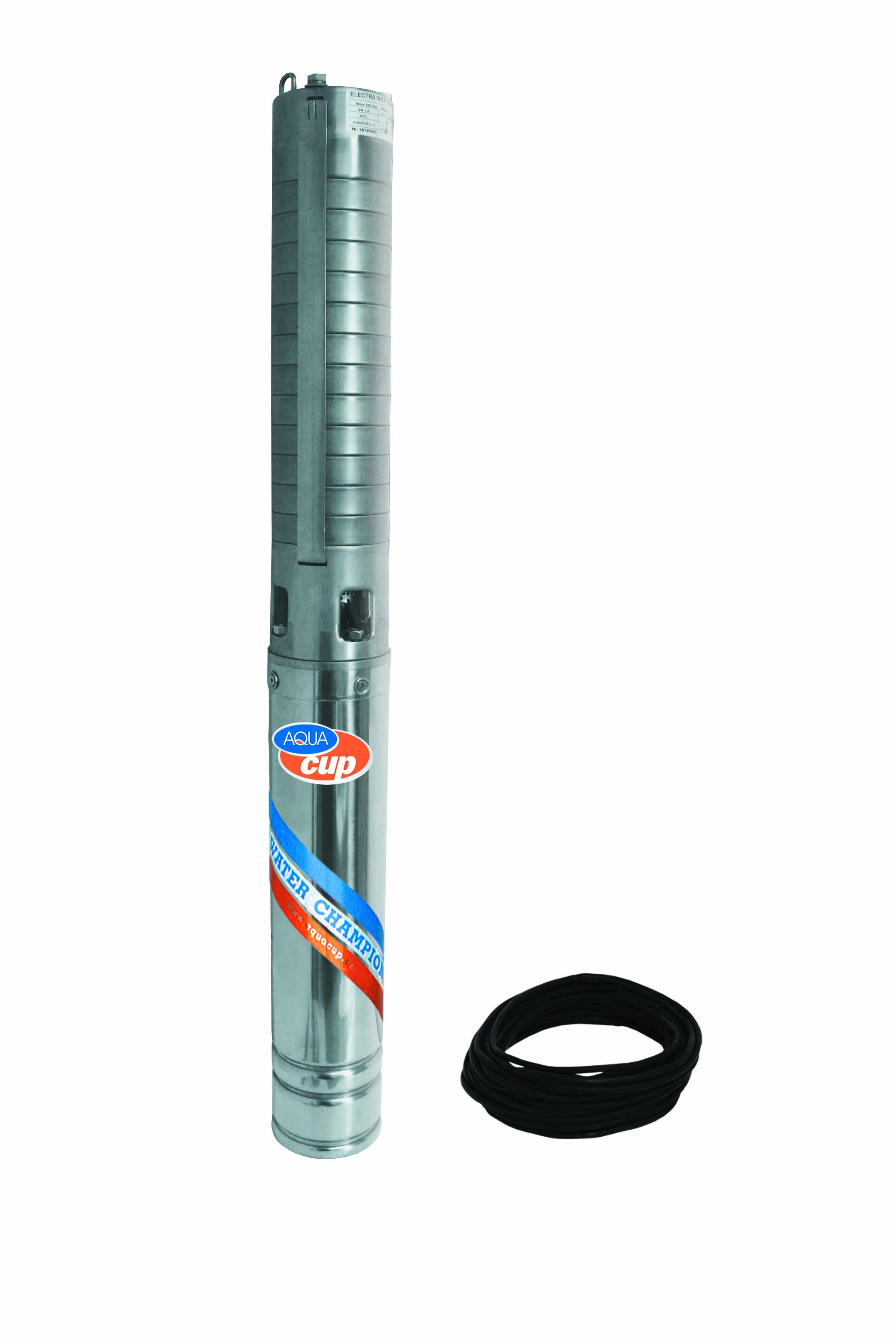 """4"""" ELECTRA INOX 70/62 T - 25m kabel"""