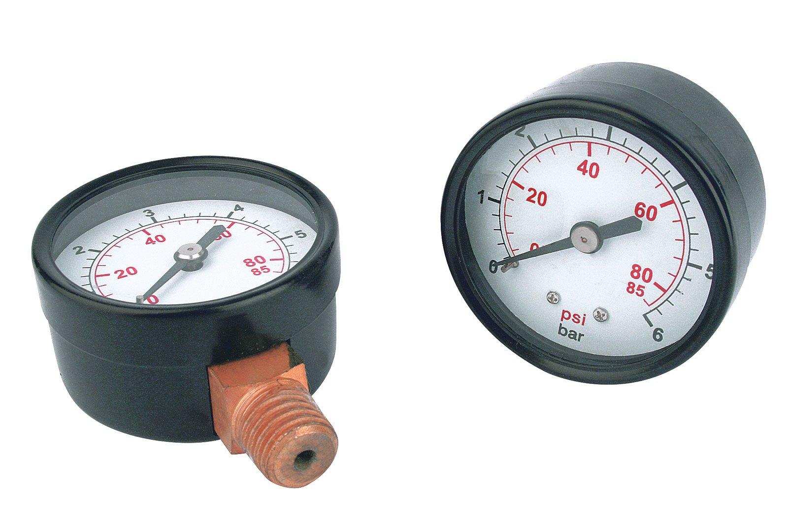Aquacup MANOMETR radiální (0-6 bar)